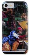 Pete Rose In The Renaissance IPhone Case by Stan Esson