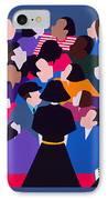 Piaf Aka A Tribute To Edith Piaf IPhone Case
