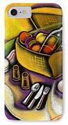 Picnic IPhone Case by Leon Zernitsky