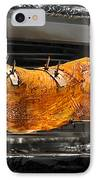 Pig Plus Barbecue Equals Mmmm Good IPhone Case by Christine Till