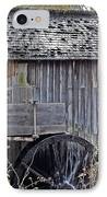Pioneer Water Mill IPhone Case by DigiArt Diaries by Vicky B Fuller