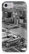 Pittsburgh 9 IPhone Case by Emmanuel Panagiotakis