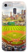 Pittsburgh Pirates  IPhone Case by Emmanuel Panagiotakis
