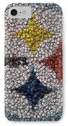 Pittsburgh Steelers  Bottle Cap Mosaic IPhone Case