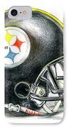 Pittsburgh Steelers Helmet IPhone Case