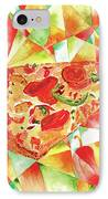 Pizza Pizza IPhone Case by Paula Ayers