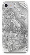 Plan Of The City Of New York IPhone Case by American School