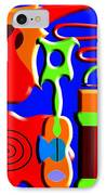 Playing Music IPhone Case