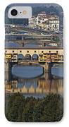Ponte Vecchio - Florence IPhone Case by Joana Kruse