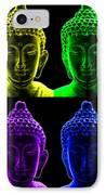 Pop Art Buddha  IPhone Case by Fabrizio Troiani