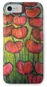 Poppies In Oil IPhone Case