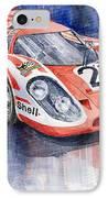 Porsche 917k Winning Le Mans 1970 IPhone Case