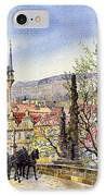 Prague Charles Bridge Spring IPhone Case