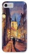 Prague Husova Street IPhone Case by Yuriy  Shevchuk