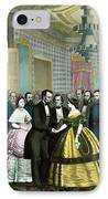 President Lincoln's Last Reception IPhone Case by War Is Hell Store