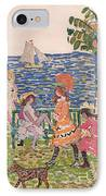Promenade IPhone Case by Maurice Brazil Prendergast
