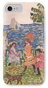 Promenade IPhone Case by Maurice Brazil Prendergast