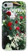 Provence Red Roses IPhone Case