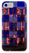 Public Market Checkerboard IPhone Case