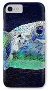 Puffer Fish IPhone Case by Jane Schnetlage
