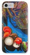 Purple Pineapple IPhone Case