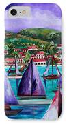 Purple Skies Over St. John IPhone Case