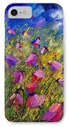 Purple Wild Flowers  IPhone Case
