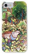 Quails And Blackberries IPhone Case