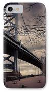 Race Street Pier IPhone Case by Katie Cupcakes