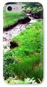 Rachel Carson National Wildlife Refuge IPhone Case by Thomas R Fletcher