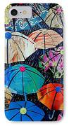 Rainy Day Personalities IPhone Case by Susan DeLain