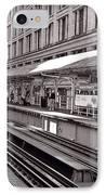 Randolph Street Station Chicago IPhone Case