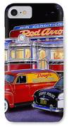 Red Arrow Diner IPhone Case by Bruce Kaiser