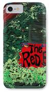 Red Bar - Grayton Beach IPhone Case