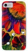 Red Garden IPhone Case