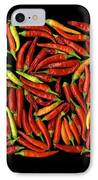 Red Hots IPhone Case by Christian Slanec