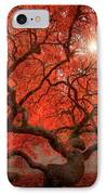 Red Lace IPhone Case
