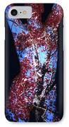 Red Maple IPhone Case by Arla Patch