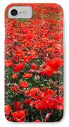Red Poppies IPhone Case by Juergen Weiss