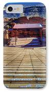 Red Rock Amphitheater IPhone Case by Barry Jones