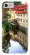 Red Roofs Of Prague IPhone Case