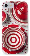 Red Teapot IPhone Case by Garry Gay