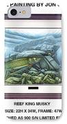 Reef King Musky IPhone Case by JQ Licensing