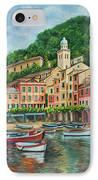 Reflections Of Portofino IPhone Case