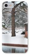 Reflections Of Winter IPhone Case by Betty LaRue