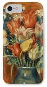 Renoir: Bouquet Of Tulips IPhone Case by Granger