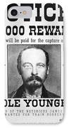 Reward Poster For Thomas Cole Younger IPhone Case by American School