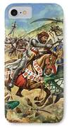Richard The Lionheart During The Crusades IPhone Case