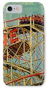 Riding The Cyclone IPhone Case