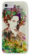 Robert Smith Cure 2 IPhone Case by Naxart Studio